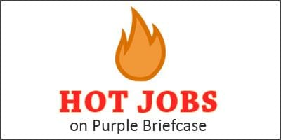 Hot Jobs on Purple Briefcase image