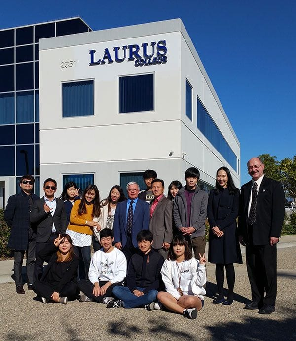 Laurus College Hosts Students from South Korea Post