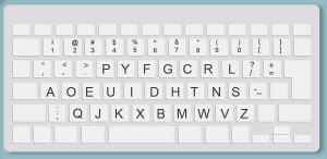 Dvorak Keyboard Layout to Learn to Touch Type