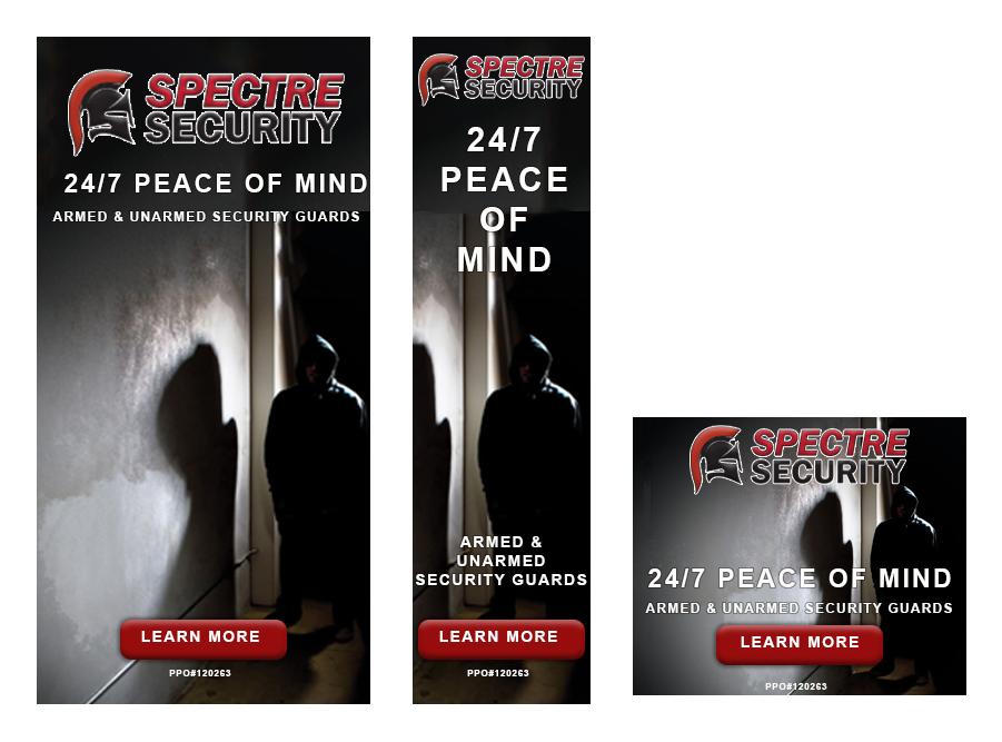 Spectre Security Digital Ads by Brad Koyak