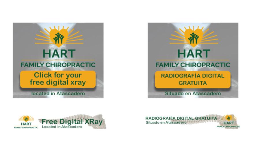 Hart Family Chiropractic Ads by Brad Koyak